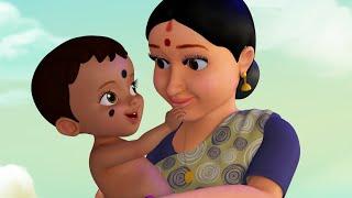 தூங்குடா என் செல்லம், நீ தங்க கட்டி வெல்லம் | Tamil Baby Folk Songs | Infobells