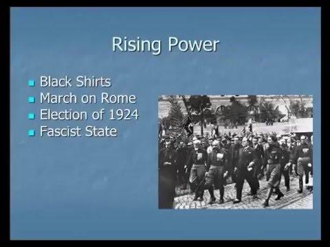 A Short History of the Interwar Period