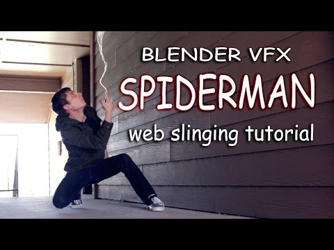 Become Spiderman! Blender VFX Tutorial