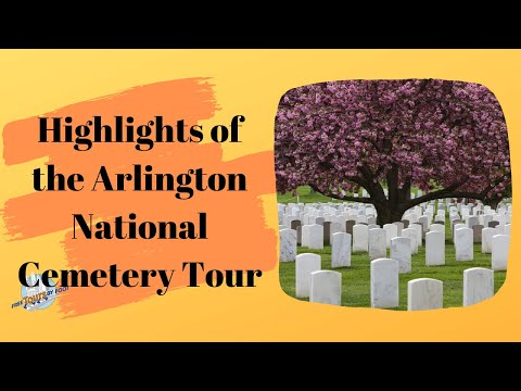 Arlington Cemetery Walking Tour | Washington DC