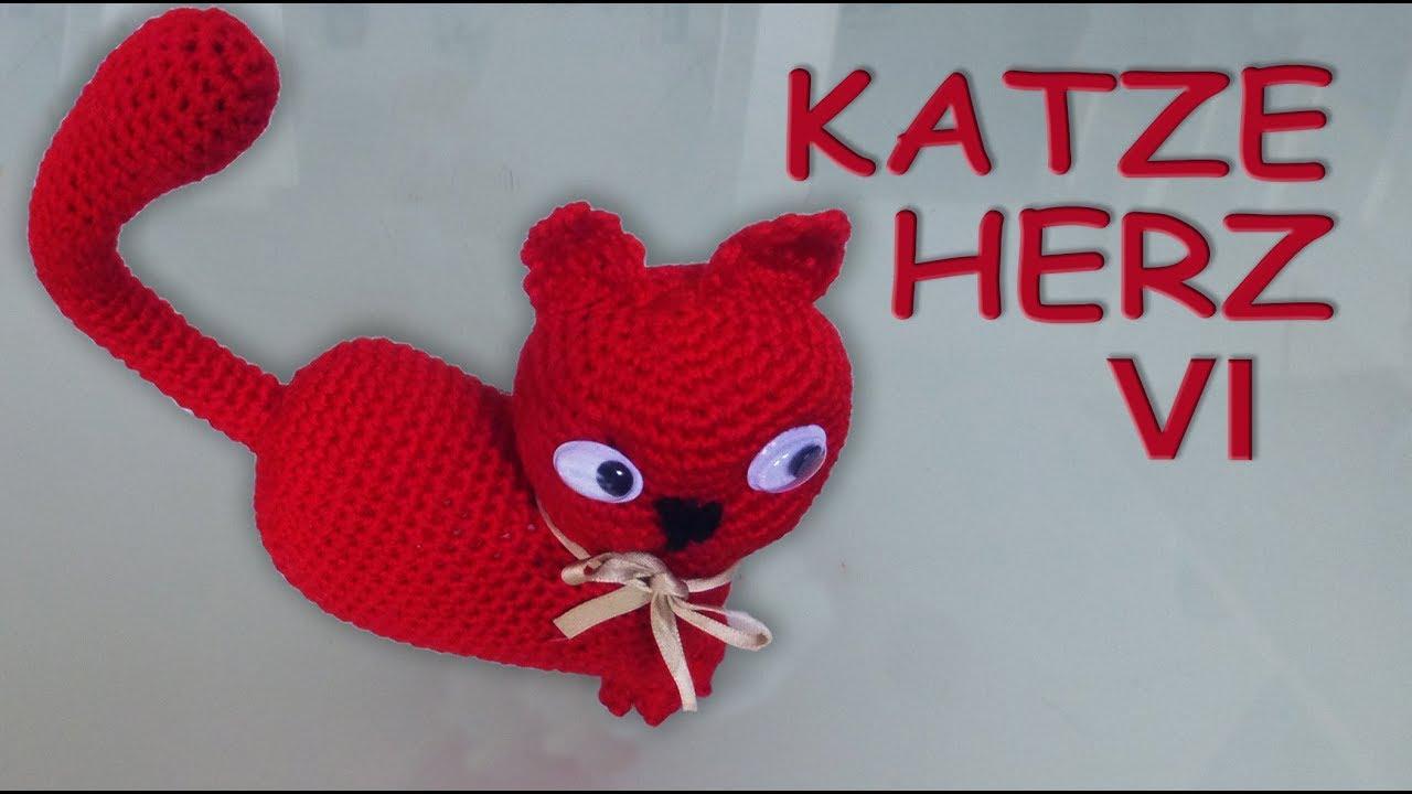 Katze - Häkelanleitung | Tiere häkeln anleitung kostenlos, Katzen ... | 720x1280