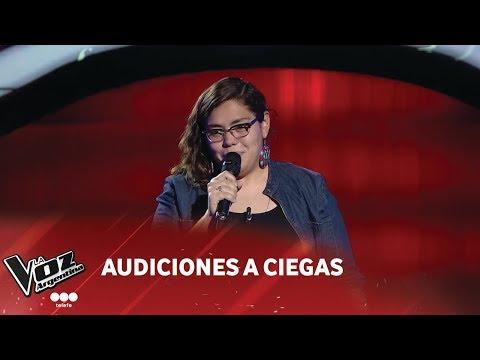 """María Inés González - """"Sin miedo"""" - Rosana - La Voz Argentina 2018"""