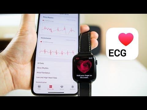Apple Watch ECG Feature - Demo on Apple Watch Series 4 (watchOS 5.1.2)