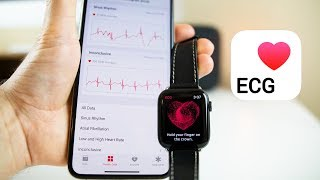 Apple Watch ECG Feature - Demo on Apple Watch Series 4 (watchOS 5.1.2)