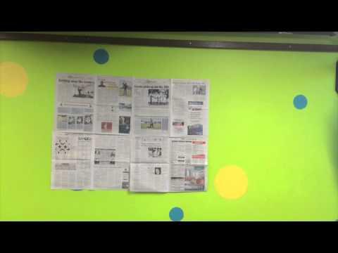 Magazine vs. Newspaper Wallpaper