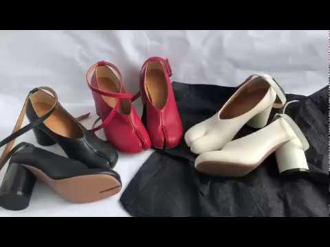 Женские туфли лодочки на высоком массивном каблуке. Женская обувь на Алиэкспресс.