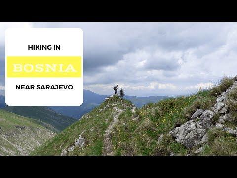 Hiking the Mountains of Bosnia Near Sarajevo