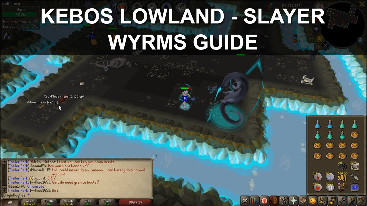 OSRS | How to Kill Wyrms - NEW Slayer Creature! (INCLUDING LOOT)