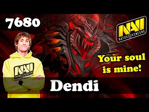 Dendi Nevermore | 7680 MMR Dota 2