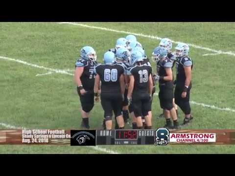 High School Football - Shady Springs V Lincoln County WV