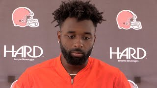 Jarvis Landry on the Browns trade of Corey Coleman