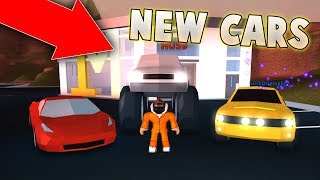 FERRARI, MUSTANG, AND MONSTER TRUCK IN JAILBREAK?! NEW CARS UPDATE! (Roblox Jailbreak)