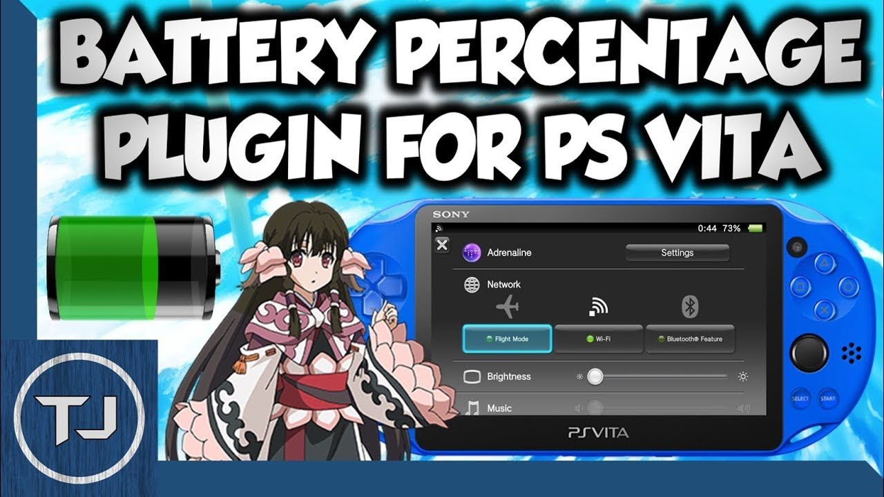 PS Vita Battery Percentage Plugin! (3 65/3 67/3 68)