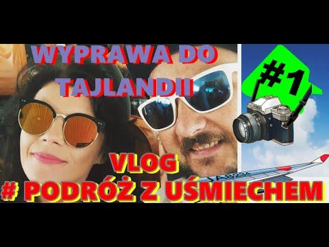 TAJLANDIA Vlog #01 Podróż do Tajlandii. Lot Warszawa - Dubaj.