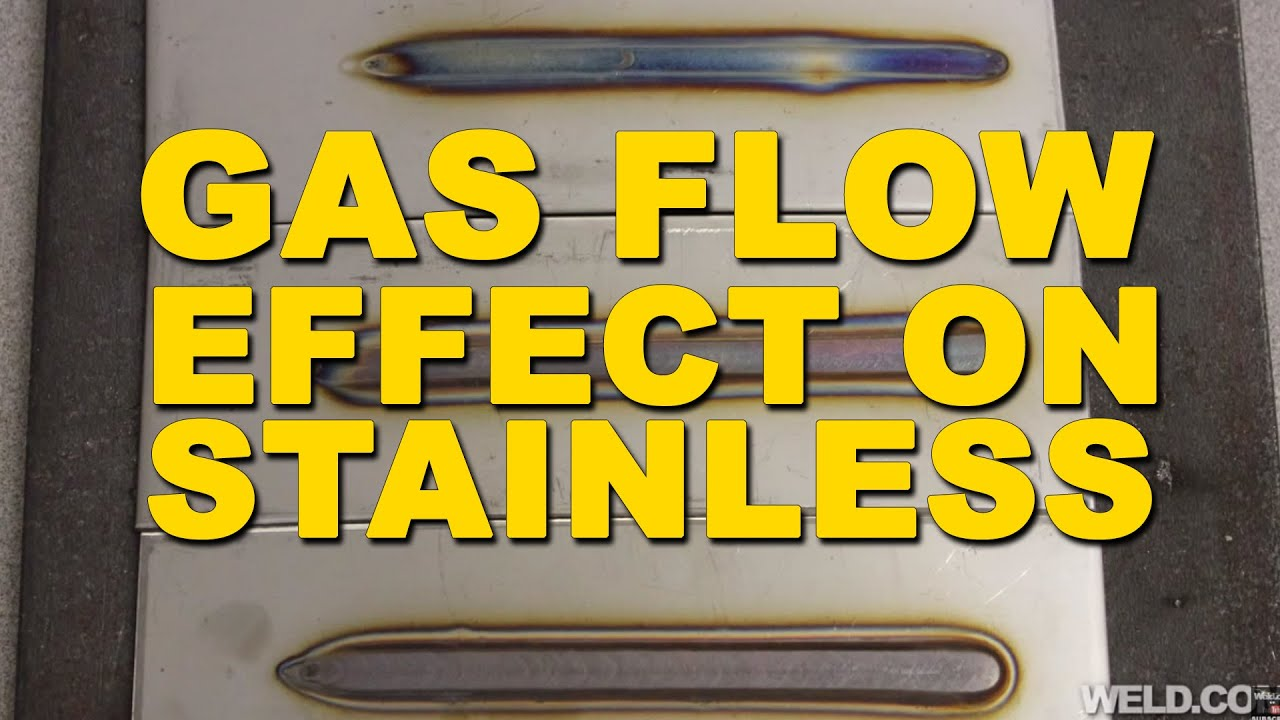 Tig welding stainless steel the effects of gas flow and for Tig welding colors