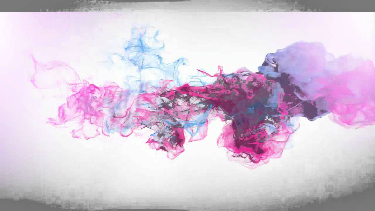 After Effects : Colour Smoke Text Effects - YouTube