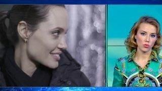 Анджелина Джоли и анорексия