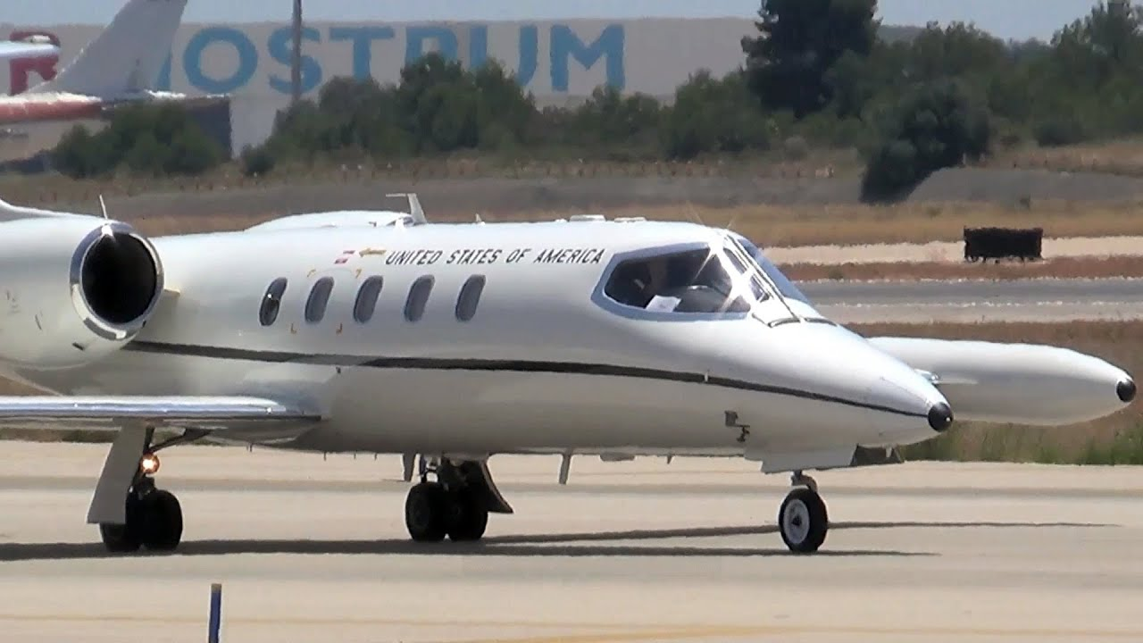 Gates Learjet C 21a 35a Usa Air Force Aviation Photo