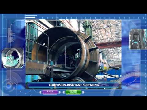 Production of  the reactor plant for the newest nuclear-powered icebreaker