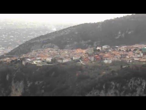 1° febbraio 2016 - La Valle del Torano dall'alto.