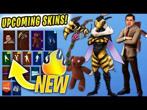 *new*-upcoming-fortnite-season-8-skins..!-*concepts*-(mr-bean,-knight-bee-&-more)