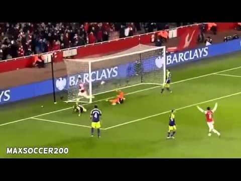 Arsenal vs Swansea City 2-2 ~ All Goals & Highlights [25/03/2014]