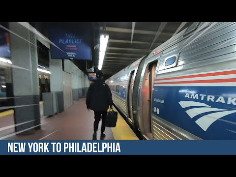 TRIP REPORT: FROM NEW YORK TO PHILADELPHIA WITH AMTRAK