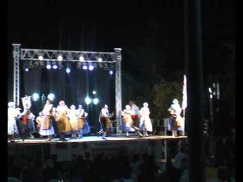 Danse folklorique nicoise, courentine