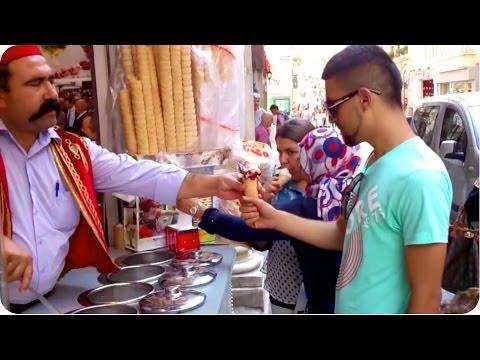 Scream for Ice Cream | Turkish Ice Cream Man Trolls Customers