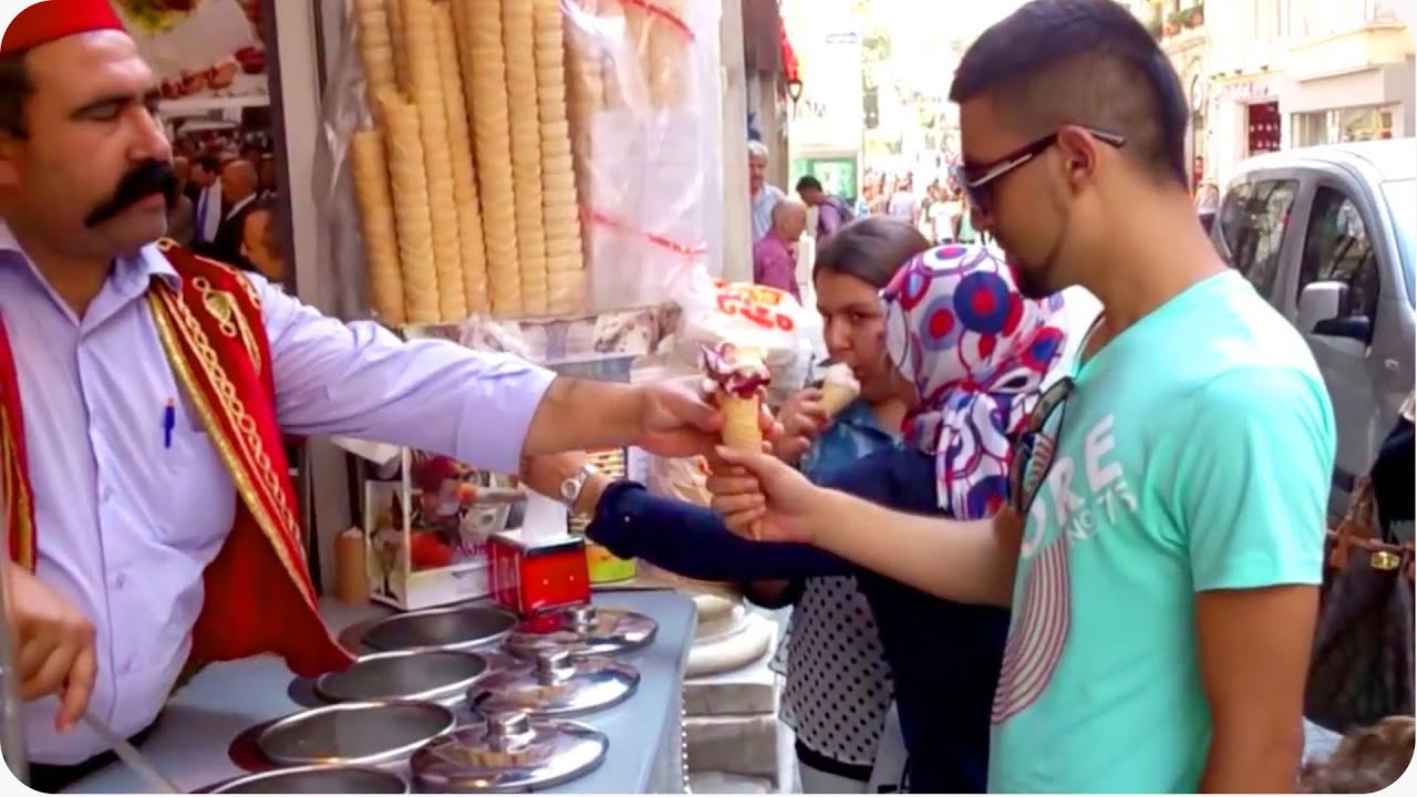 Scream For Ice Cream Turkish Ice Cream Man Trolls Customers Youtube