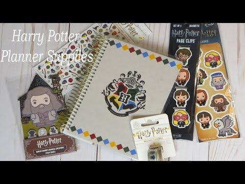 Harry Potter Planner Supplies Haul