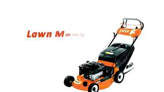 Lawn Mowers & Hedge Trimmer