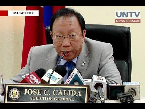 Bank records against President Duterte, fake - SolGen