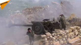 Syrian Army Deploy Artillery in Latakia to Wipe Out Terrorist Rocket Sites