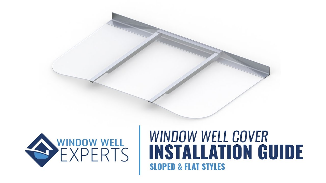 window well experts visuallab window well covers installation guide experts sc st youtube