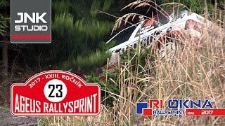 23. Ageus Rallysprint Kopná 2017 (crash & action)