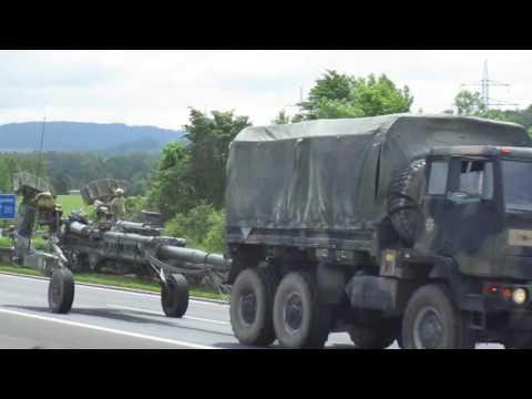 US Army Europe Dragon Ride 2016 Armeekonvoi