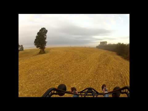 Powered Paragliding above the Fog along the Mississippi River