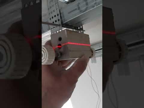 потолок из гипсокартона , быстрое выравнивание