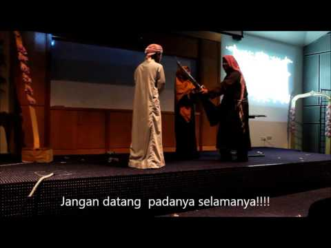 FULL VIDEO ARABIC THEATRE QAYS LAYLA (with malay subtitle)