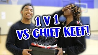 1V1 Against Famous Rapper Chief Keef For Rare Pair Of Shoes!!!(SHOCKING ENDING)