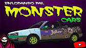 Monster Cars Azcapotzalco Youtube