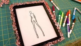 DIY Croquis Whiteboard for Fashion Design