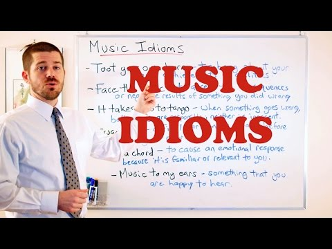 Idiom Series  - Music Idioms