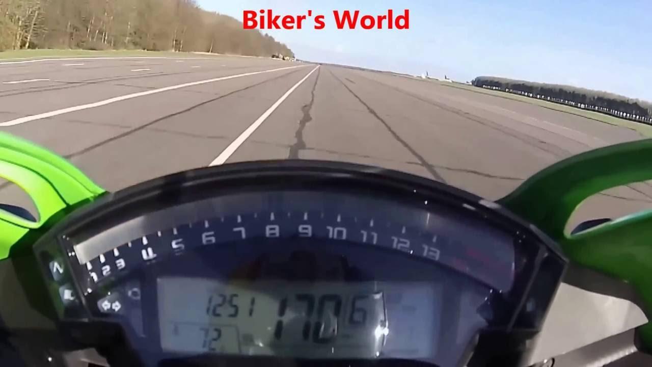 ninja zx10r top speed - youtube