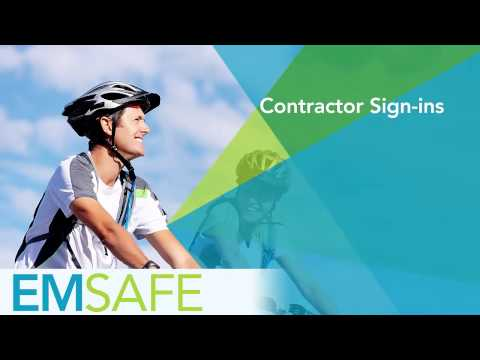 EMsafe - Contractor Sign-ins (Mobile)