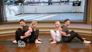 Kelly and Ryan Try Partner Yoga