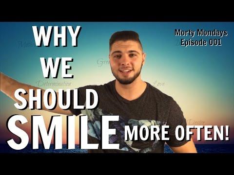 Souriez plus: pourquoi nous devrions sourire plus souvent! (Avantages de sourire)