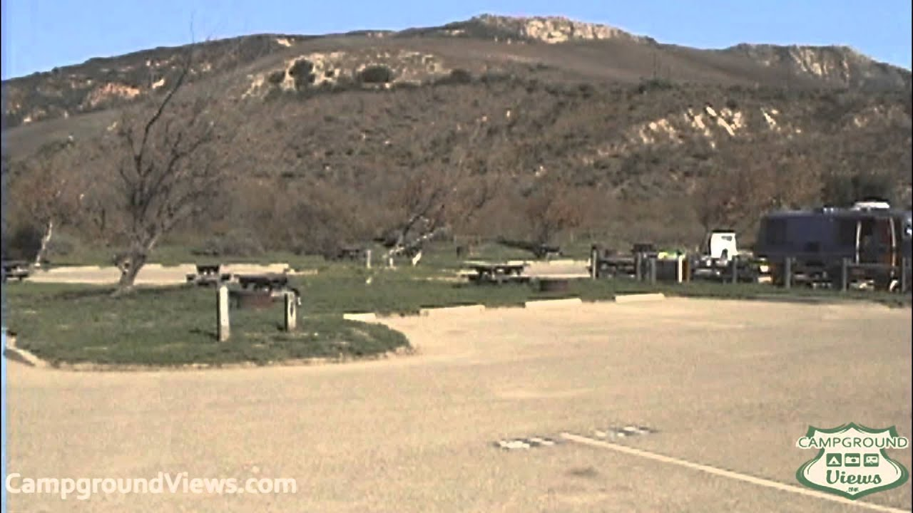 Campgroundviews Gaviota State Park Campground Goleta Santa Barbara California Ca