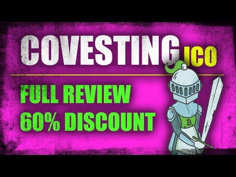 Covesting pre-ICO  - Full Review (Currently big discount)